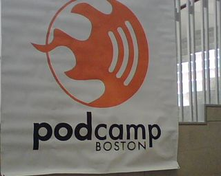 PodCamp Boston, photo by @JamiePappas