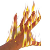 Participating in social networks with flaming finger velocity is not helpful to anyone