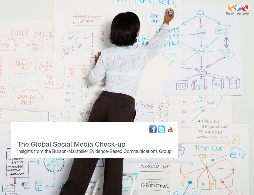 "Burson-Marsteller White Paper ""The Global Social Media Check Up"""