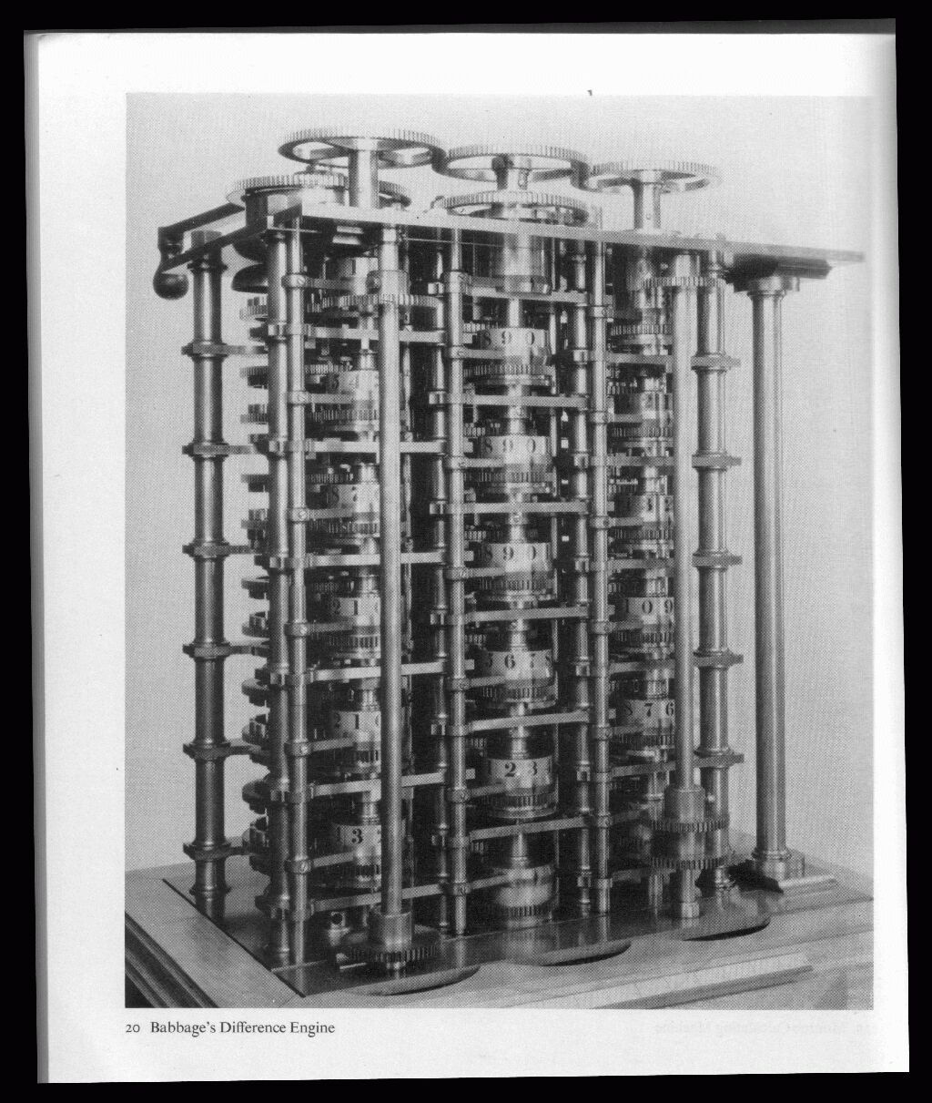 Charles Babbage's Analytical Engine -Courtesy of https://babbage.bravehost.com